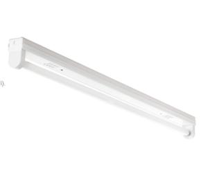 โคมกล่องเหล็กขาสปริง หลอดT8 LED