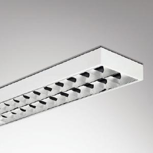 โคมตะแกรงแบบติดลอย LSST 600/2S 2x18W (60x60cm.)