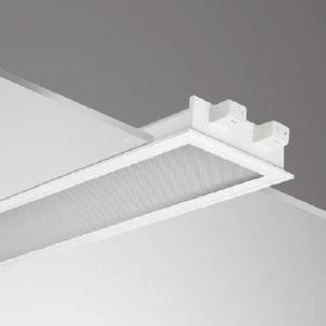 โคมฝังฝ้าหน้าพลาสติก LRSTP 300 2L 2x36W 30x120cm.